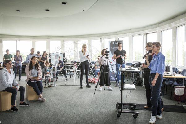Barcamp KI-TT am 06.06.2019 am Campus Südstadt der TH Köln, Rotunde  Bild: Heike Fischer / TH Köln